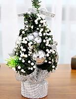 baratos -Árvores de Natal Tema Flores / Férias De madeira Cubo de madeira Decoração de Natal