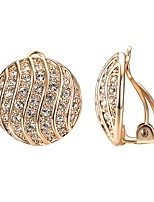 abordables -Mujer Circonita Clásico Pendientes colgantes - Chapado en Oro Diseño Único, Bohemio, Moda Dorado / Plata Para Fiesta / Noche / Regalo