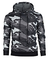 cheap -men's sports long sleeve hoodie - camouflage hooded