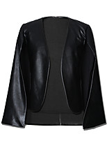 cheap -Women's Punk & Gothic Blazer-Solid Colored