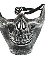 preiswerte -Urlaubsdekoration Halloween-Dekorationen Halloween-Masken / Halloween unterhaltsam Dekorativ / Cool Silber 1pc