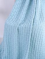 baratos -Super Suave, Impressão Reactiva Sólido 100% Acrílico cobertores