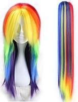 Недорогие -Косплэй парики Косплей Косплей Аниме Косплэй парики 24 дюймовый Термостойкое волокно Все Хэллоуин парики