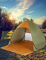 cheap -2 person Screen Tent Single Layered Camping Tent Outdoor Lightweight, Rain-Proof, Breathability for Camping / Hiking / Caving / Traveling 1000-1500 mm Oxford Cloth 145*165*110 cm