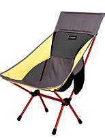 cheap -BEAR SYMBOL Camping Folding Chair Outdoor Rain-Proof, Anti-Slip, Wearable Oxford Cloth, 7075 Aluminium for Fishing / Hiking / Camping - 1 person Yellow