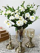 Недорогие -Искусственные Цветы 1 Филиал Классический Стиль / европейский Камелия Букеты на стол