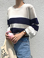 cheap -Women's Street chic Pullover - Striped