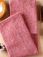 abordables -Qualité supérieure Serviette de bain, Couleur Pleine / Géométrique 100% Coton Salle de  Bain 1 pcs