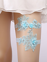 cheap -Lace Wedding / Lace Wedding Garter With Lace Garters Wedding / Special Occasion