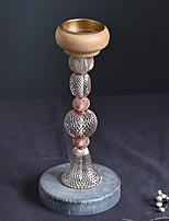 Недорогие -Европейский стиль деревянный Подсвечники Канделябр 1шт, Свеча / подсвечник