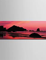 abordables -Imprimé Impressions sur toile roulées - Thème de plage / Photographie Moderne