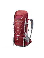 Недорогие -75+10 L Заплечный рюкзак - Дожденепроницаемый, Пригодно для носки, Воздухопроницаемость На открытом воздухе Пешеходный туризм, Походы, Горные лыжи 100 г / м2 полиэфирный стреч-трикотаж
