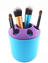 Недорогие -Для профессионалов / многофункциональный инструмент / Pro Составить 1 pcs пластик Круглая Косметика Традиционный / Мода На каждый день Повседневный макияж Кейс для инструментов На каждый день