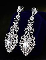 abordables -Mujer Elegante Pendientes colgantes - Corazón Europeo, Moda Dorado / Plata Para Boda / Diario