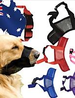 cheap -Dogs Bark Collar Anti Bark Solid Colored / Mesh Net / Nylon Red / Pink / Black