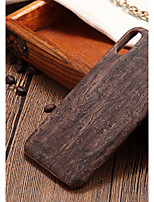 cheap -Case For Apple iPhone X / iPhone 8 Ultra-thin Back Cover Wood Grain Hard PC for iPhone X / iPhone 8 Plus / iPhone 8