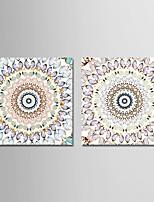 Недорогие -С картинкой Отпечатки на холсте - Животные / Бабочки Modern