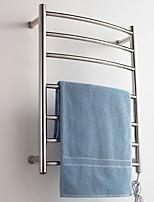 economico -Portasciugamani a muro Fantastico / Creativo Moderno Acciaio inox / ferro 1pc Scalda asciugamano Montaggio su parete