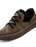 cheap -Men's PU(Polyurethane) Fall Comfort Sneakers Black / Gray / Brown