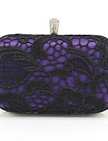 cheap -Women's Bags Silk Evening Bag Sashes / Ribbons Blue / Purple