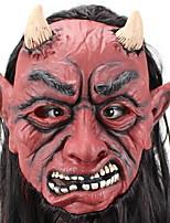 Недорогие -Праздничные украшения Украшения для Хэллоуина Маски на Хэллоуин / Хэллоуин Развлекательный Декоративная / Cool Темно-красный 1шт