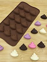 Недорогие -Инструменты для выпечки Силикон 3D / Креатив Торты / Для приготовления пищи Посуда Формы для пирожных 1шт