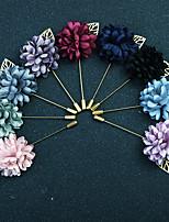 Недорогие -Жен. Классический / Стильные Броши - Искусственный бриллиант Рукав-лепесток, маргаритка Винтаж, Мода, Английский Брошь Светло-синий / Светло-Розовый / Светло-голубой Назначение Свадьба / Повседневные
