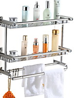 cheap -Towel Bar New Design / Cool Contemporary Stainless Steel / Iron 1pc Double Wall Mounted