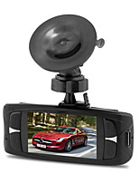 cheap -Factory OEM HD / Night Vision Car DVR 140 Degree Wide Angle 12 MP 2.7 inch LCD Dash Cam with Loop recording / Loop-cycle Recording Car Recorder