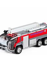 abordables -Petites Voiture Véhicule de Pompier Camions Incendie Design nouveau Alliage de métal Enfant Adolescent Tous Garçon Fille Jouet Cadeau 1 pcs