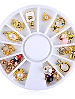 abordables -1 pcs Bijoux pour ongles Etuis ornés de bijoux / Meilleure qualité Créatif Chanceux Manucure Manucure pédicure Lolita Aristocrate / Romantique