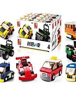 Недорогие -Sluban Конструкторы 12 pcs трансформируемый Фокусная игрушка Декомпрессионные игрушки Все Мальчики Девочки Игрушки Подарок