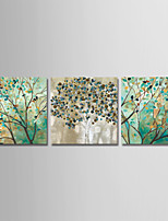 cheap -Print Stretched Canvas Prints - Abstract / Floral / Botanical Modern