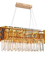 cheap -QIHengZhaoMing 10-Light Chandelier Ambient Light 110-120V / 220-240V, Warm White, Bulb Included