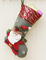 Недорогие -Рождественские чулки Праздник Нетканый материал Оригинальные Рождественские украшения