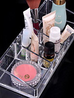 cheap -Storage Organization Cosmetic Makeup Organizer Plastic Irregular shape Multilayer / Uncovered