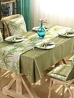 cheap -Contemporary 100g / m2 Polyester Knit Stretch Square Table Cloth Solid Colored Table Decorations 1 pcs