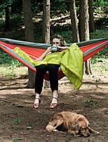 Недорогие -Naturehike Туристический гамак На открытом воздухе Легкие, Мини, Способствует хорошему настроению ТПУ, Нейлоновое волокно для Походы - 1 человек Оранжевый / Темно-синий / Желтый