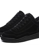 Недорогие -Муж. Полиуретан Весна Удобная обувь Кеды Черный / Коричневый / Темно-серый