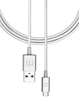 Недорогие -MEIZU USB 2.0 Тип C Кабель, USB 2.0 Тип C to USB 2.0 Кабель Male - Female 1.2m (4FT)