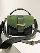 cheap -Women's Bags PU(Polyurethane) Tote Buttons Black / Brown / Dark Brown