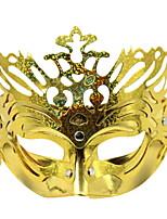 Недорогие -Праздничные украшения Украшения для Хэллоуина Маски на Хэллоуин Декоративная / Cool Золотой 1шт