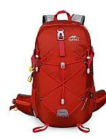Недорогие -28 L Рюкзаки - Пригодно для носки, Стреч На открытом воздухе Походы, Путешествия Нейлон Красный, Синий