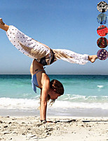 cheap -Women's Harem / Smocked Waist Yoga Pants - Black / White, Red / White, Dark Navy Sports Print, Elephant, Bohemian High Rise Bloomers Belly Dance, Fitness Activewear Lightweight, Moisture Wicking