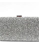 cheap -Women's Bags PU(Polyurethane) Evening Bag Crystals Gold / Black / Silver
