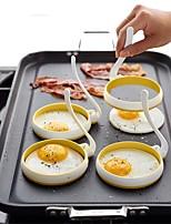 Недорогие -Кухонные принадлежности Нейлон Лучшее качество / Творческая кухня Гаджет / Своими руками DIY прессформы / Инструменты сделай-сам Для Egg 2pcs