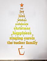 Недорогие -Оконная пленка и наклейки Украшение Рождество Праздник ПВХ Стикер на окна / Столовая / Магазин / Кафе