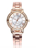 cheap -Women's Dress Watch Wrist Watch Quartz New Design Casual Watch Imitation Diamond Alloy Band Analog Fashion Elegant Silver / Gold / Rose Gold - Gold Silver Rose Gold One Year Battery Life