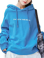 cheap -Women's Going out Hoodie - Letter