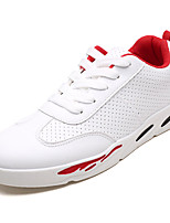 cheap -Men's Nappa Leather Fall Comfort Sneakers White / Red / Black / White